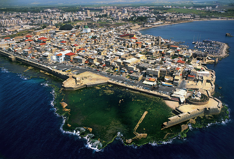 Aerial view of Acre (Akko)