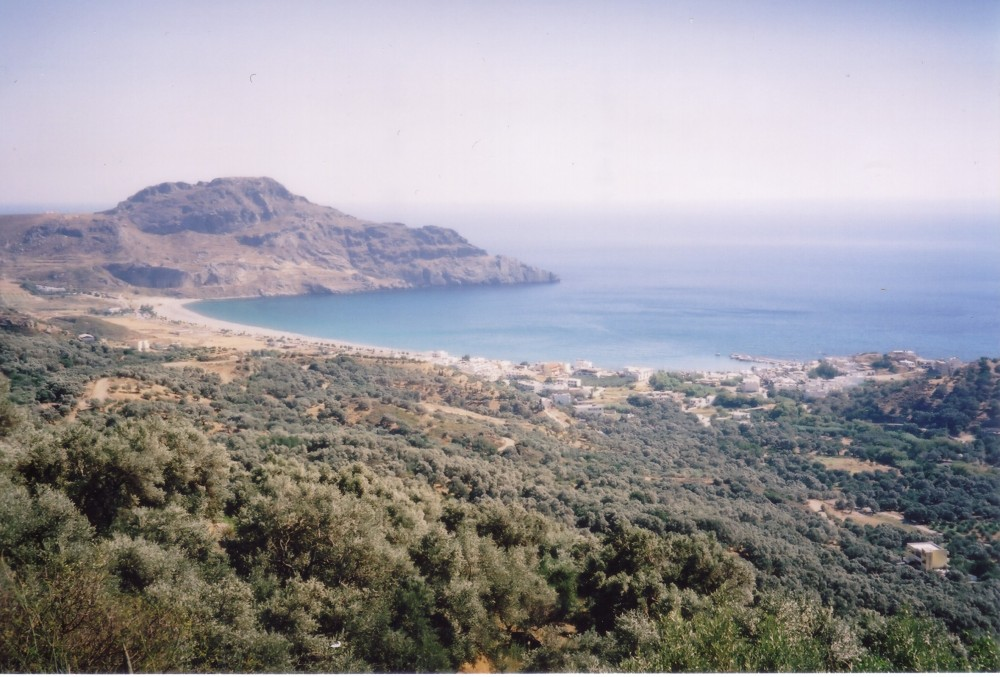South coast of Crete