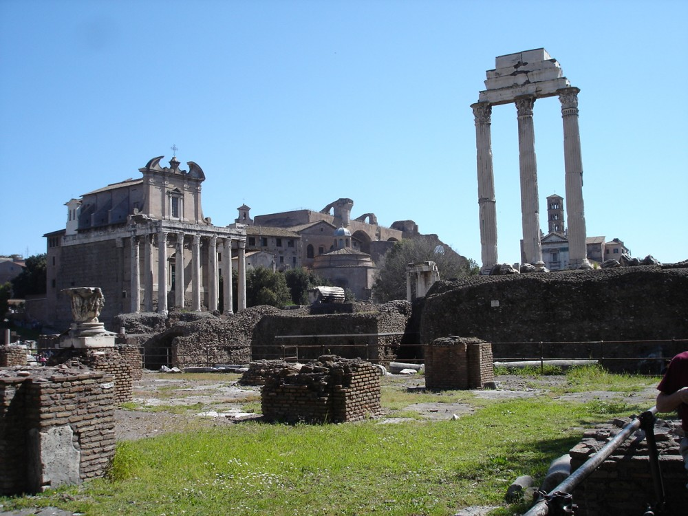 Temple of Castor and Pollux, Rome