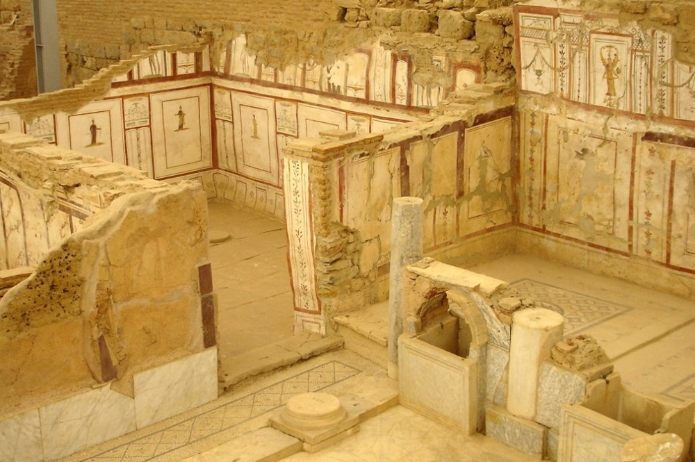 Roman houses in Ephesus