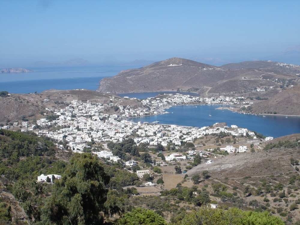 View from St John's Monastery, Patmos