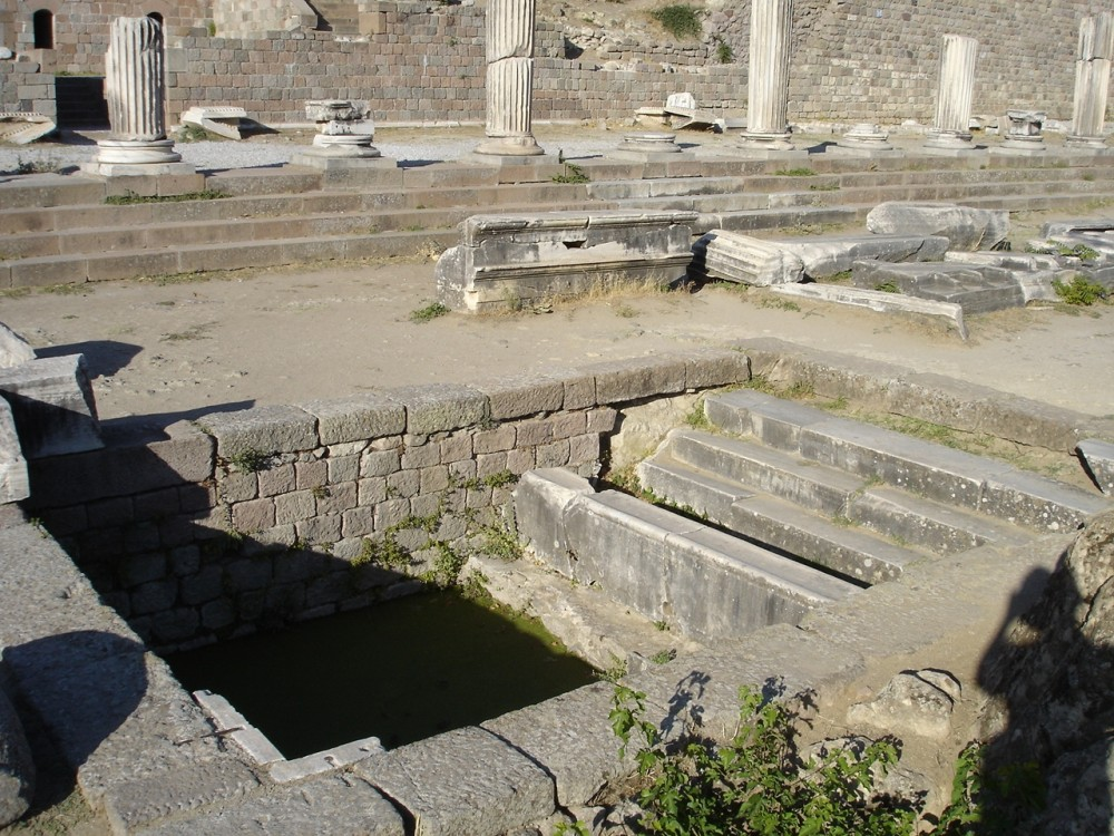 Healing pool at Pergamum Asklepion
