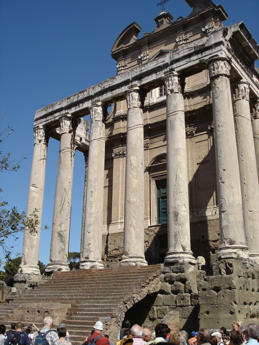 Temple of Antoninus & Faustina, Rome