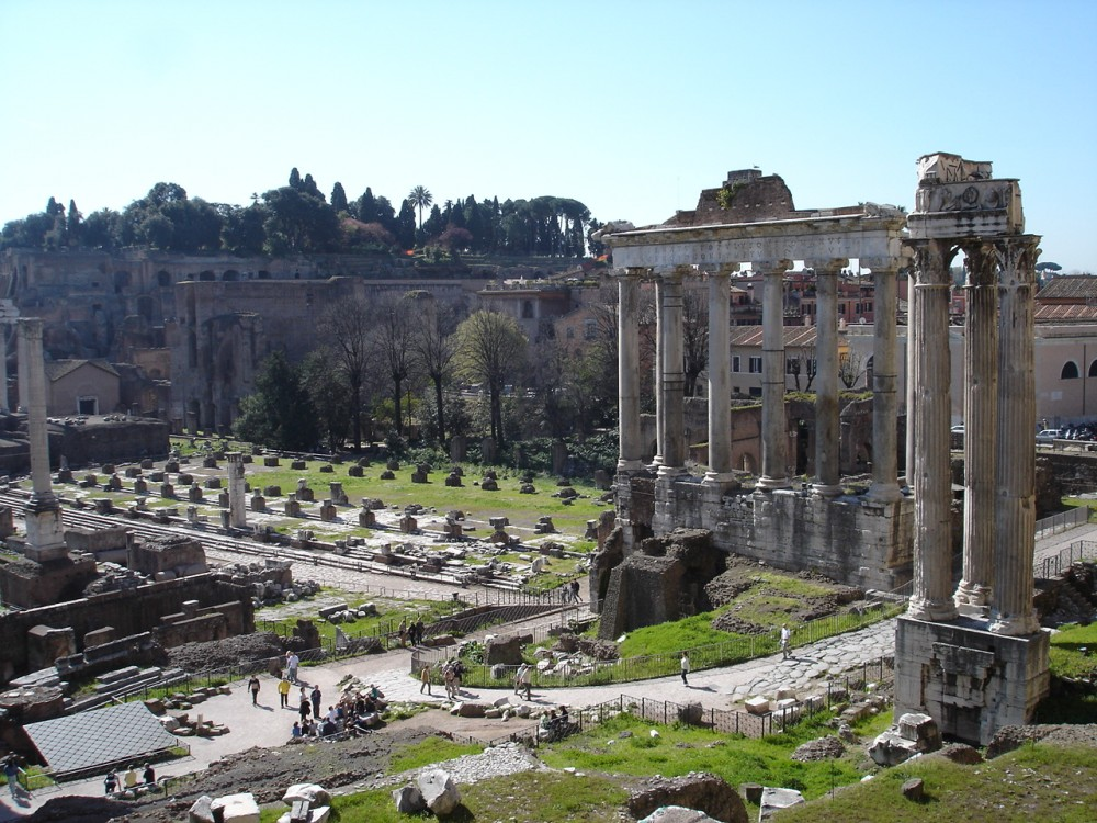 The Roman Forum at Rome