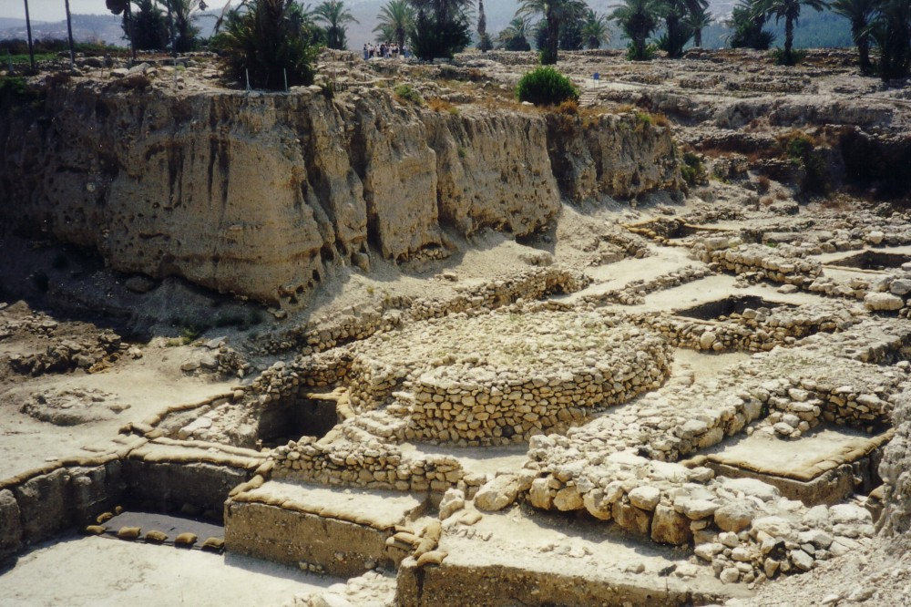 Canaanite altar at Megiddo