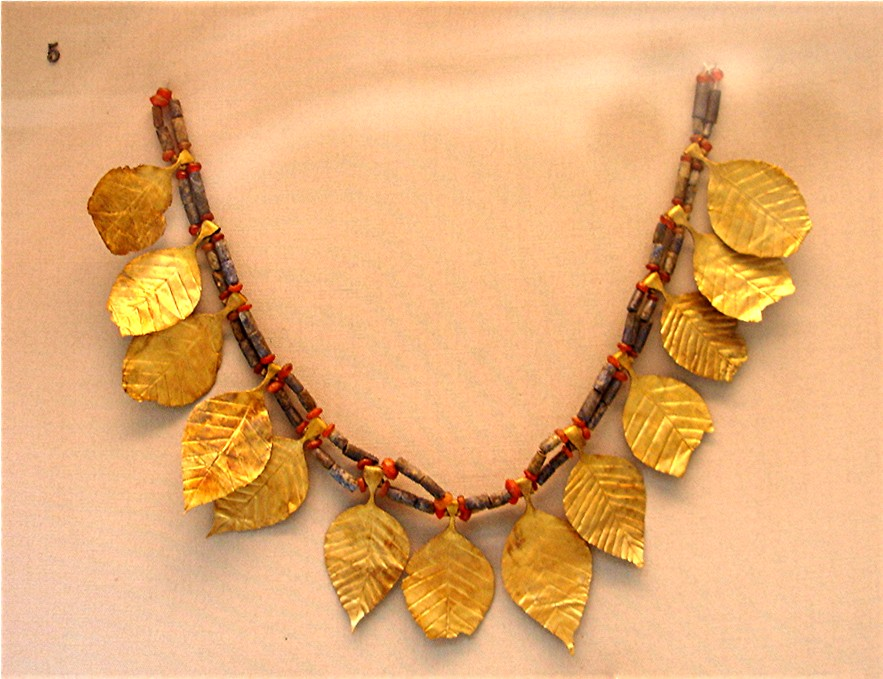Necklace from the Royal Tombs of Ur