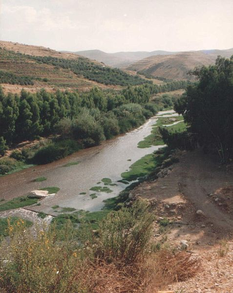 A ford on the River Jabbok
