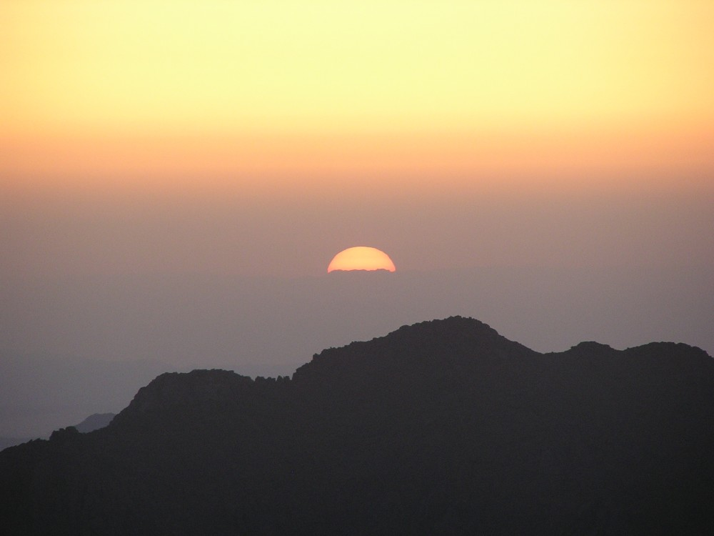 Sunrise over Sinai