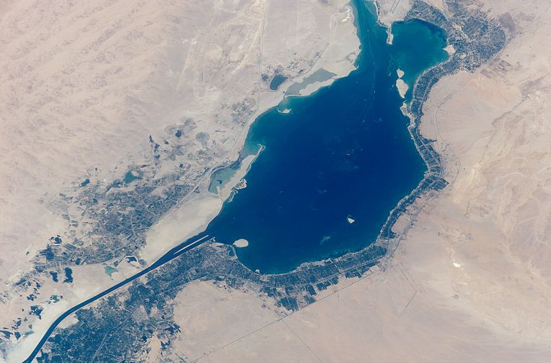 The Great Bitter Lake, Egypt