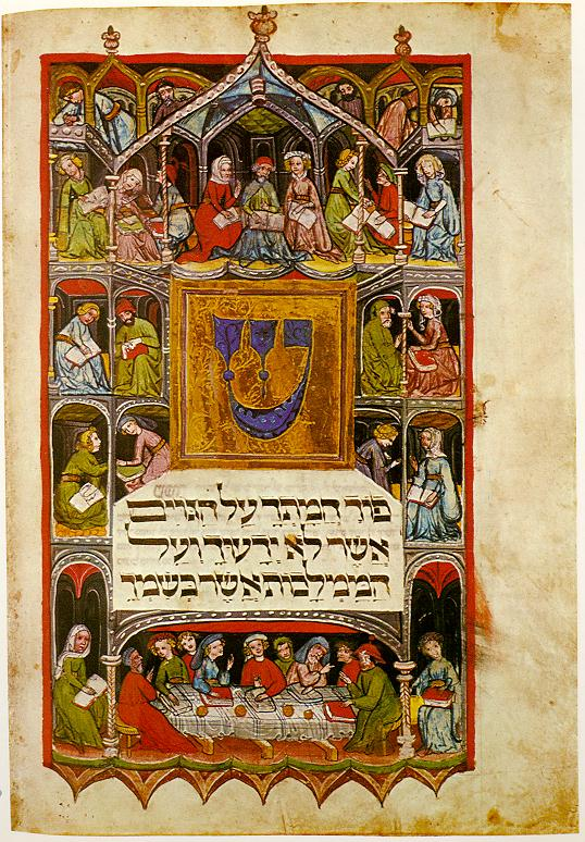 A Haggadah for celebrating Passover