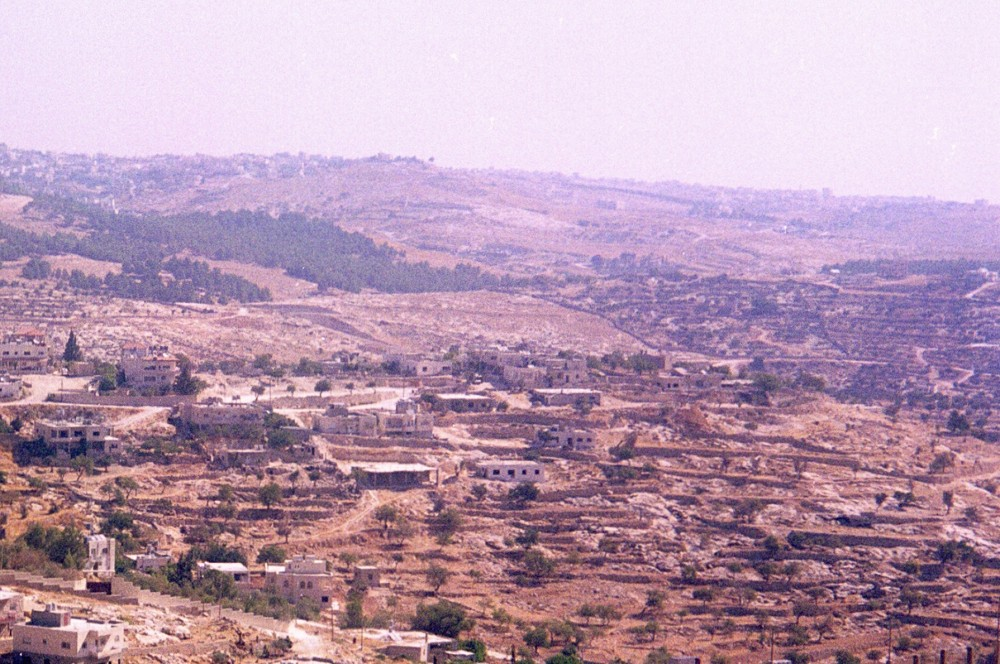 Shepherd's fields at Beit Sahur