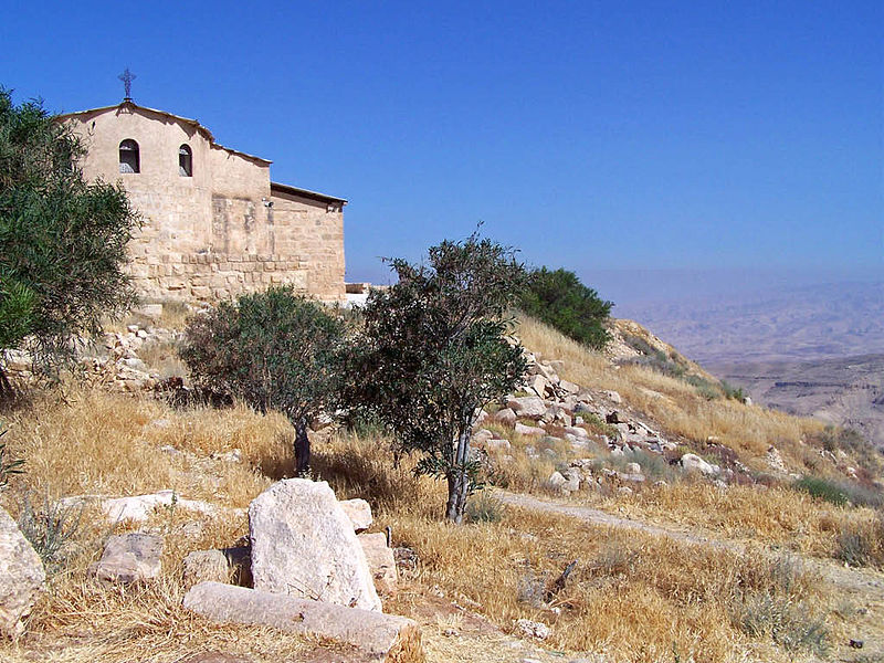 Chapel on the summit of Mt Nebo