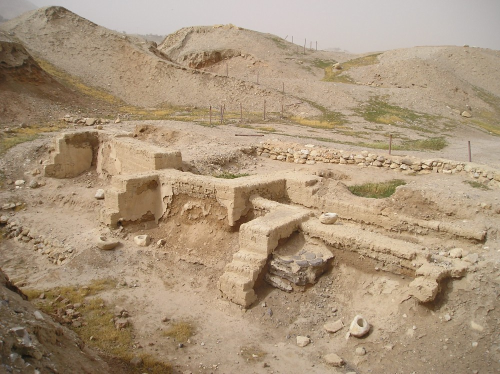 Remains of Anceient Jericho