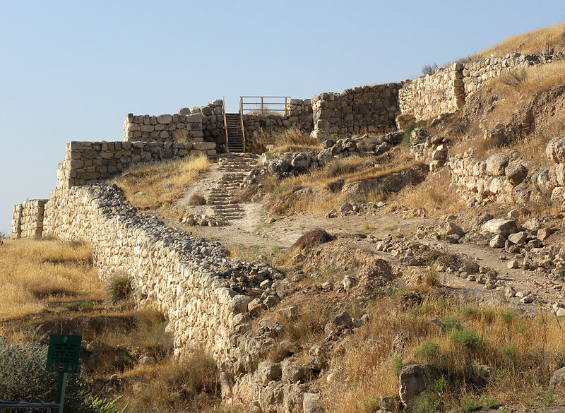 Main Gate at Lachish (Wilson 44691)
