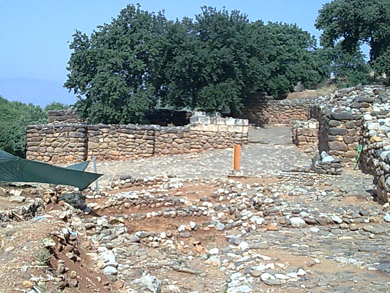 Israelite Gate at Tel Dan (Adrianlw)