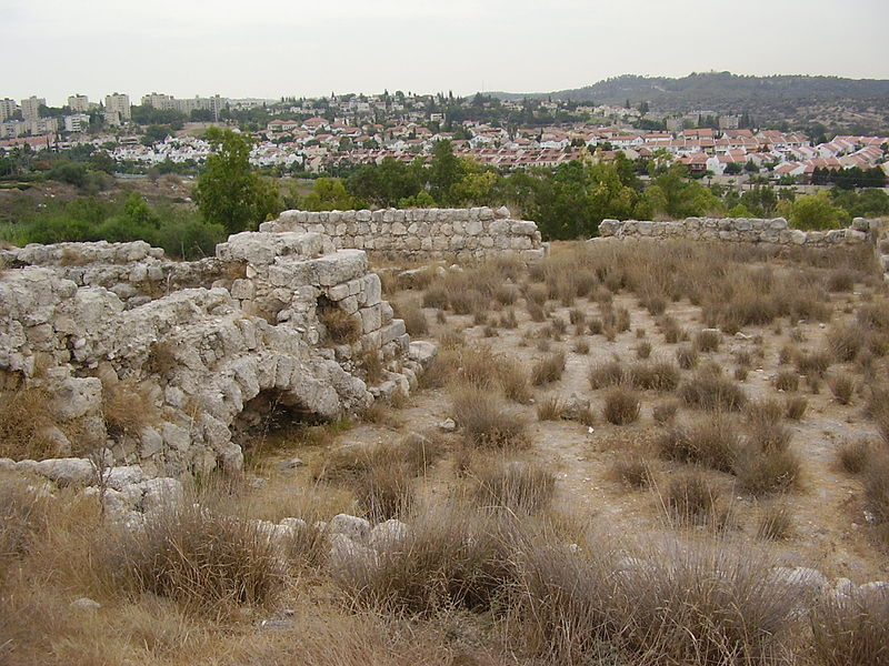 Remains at Beth Shemesh  ישי טייכר
