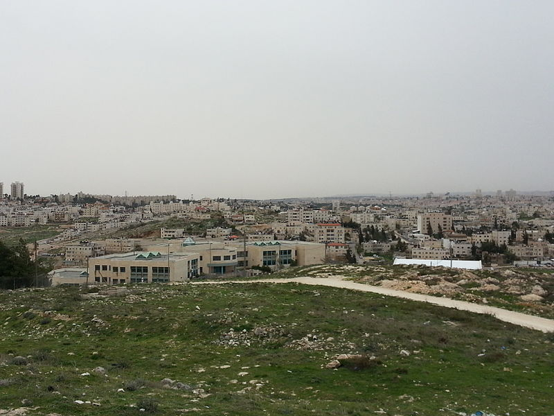 View towards Jerusalem from the site of Gibeah