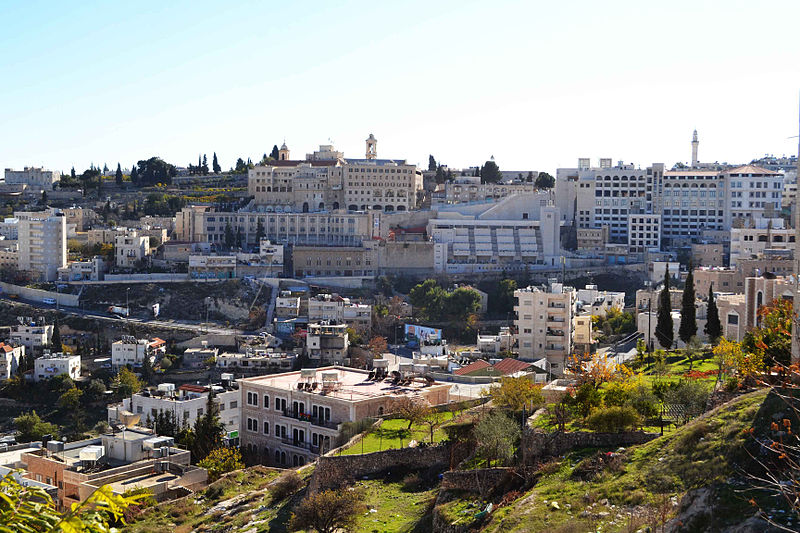 View overlooking Bethlehem