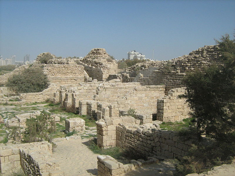 Remains at Ashdod Yam