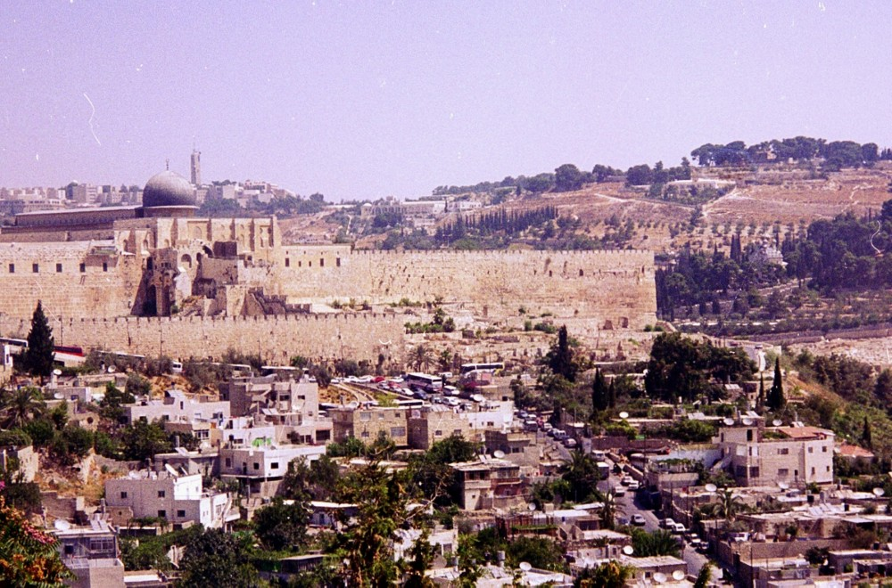South East corner of the Temple mount, Jerusalem