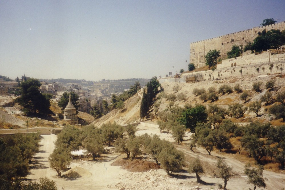 Absalom's Tomb in the Kidron Valley