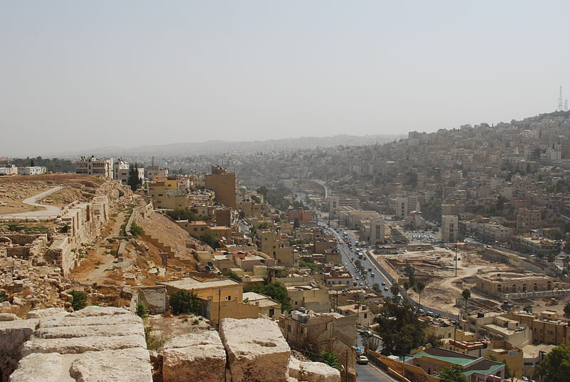 Amman - view from the Citadel (Jean Housen)