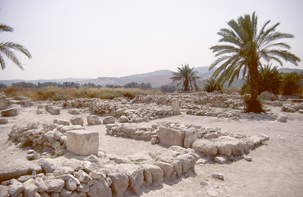 King Solomon's stables at Megiddo