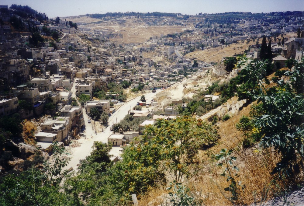 The Lower Kidron Valley