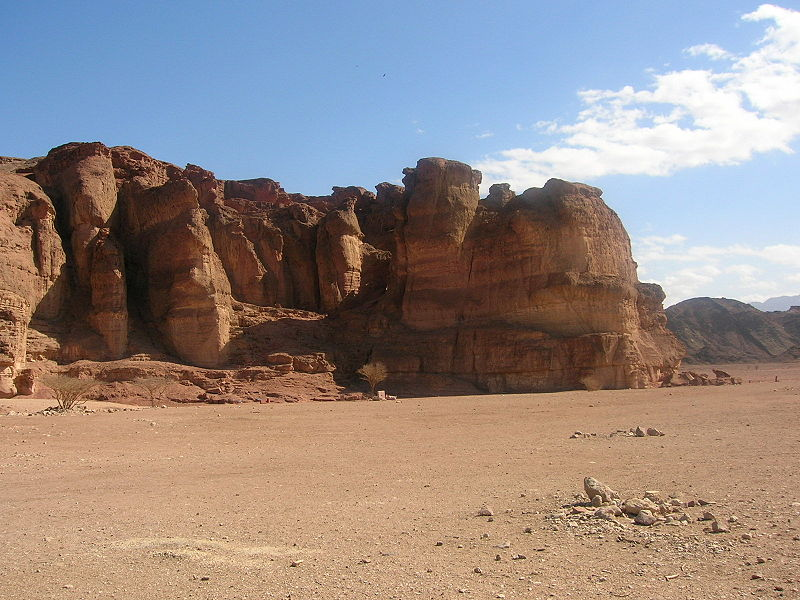 Solomon's Pillars, Timna Park (Little Savage)