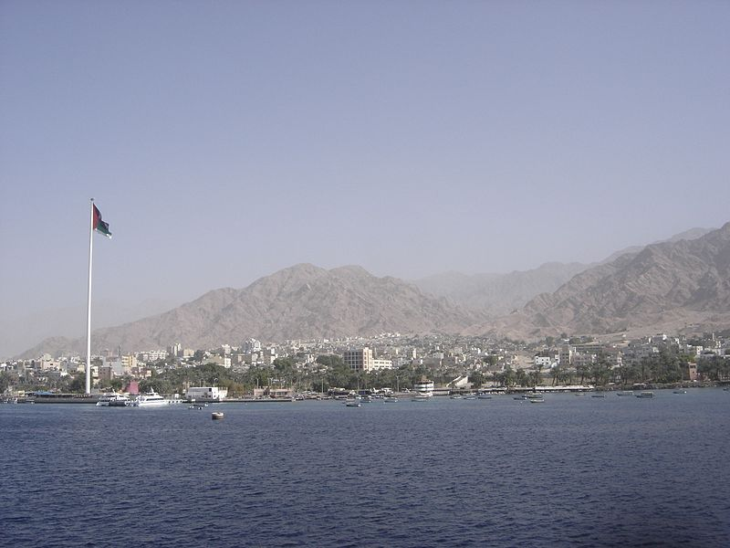 Aqaba from the sea (Gérard Janot)