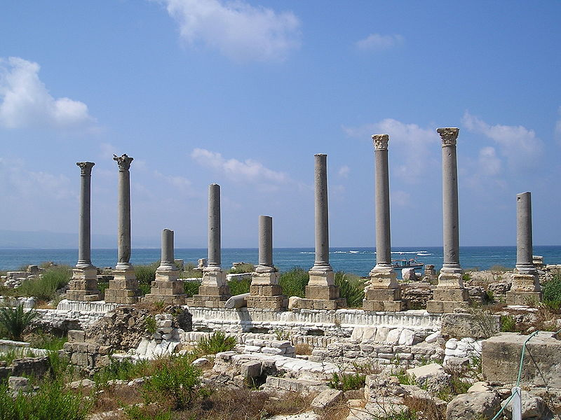 Tyre Al Mina Roman remains (Heretiq)