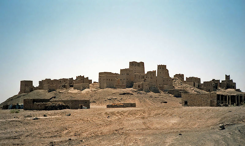 Ancient Ma'rib, capital of the Sabaean kingdom of Yemen  (Bernard Gagnon)