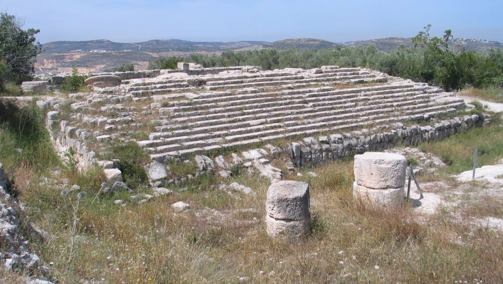 Shomron National Park - Remains of Roman Sebaste (Samaria) (Bukvoed)
