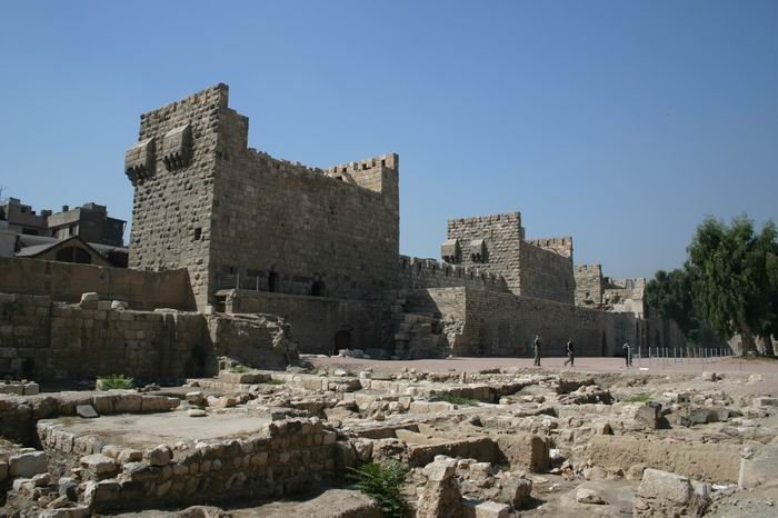 Inside the Citadel at Damascus (Mewes)