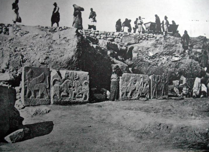 Excavations at Carchemish in 1910