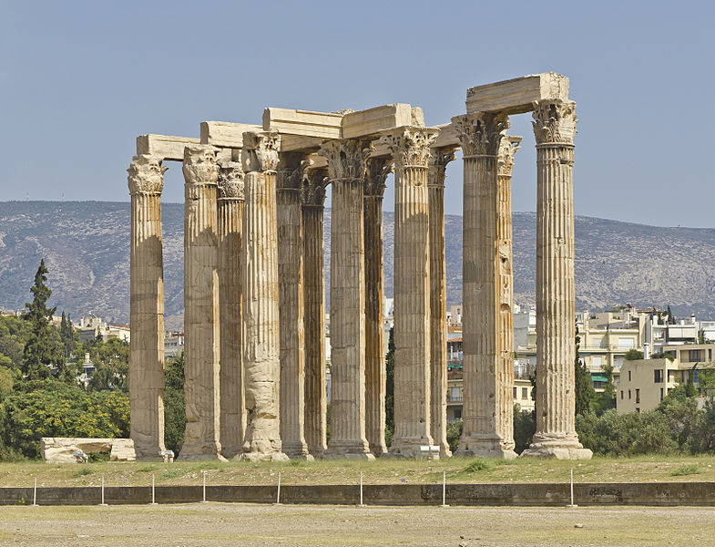 Temple of Olympian Zeus in Athens (A.Savin)