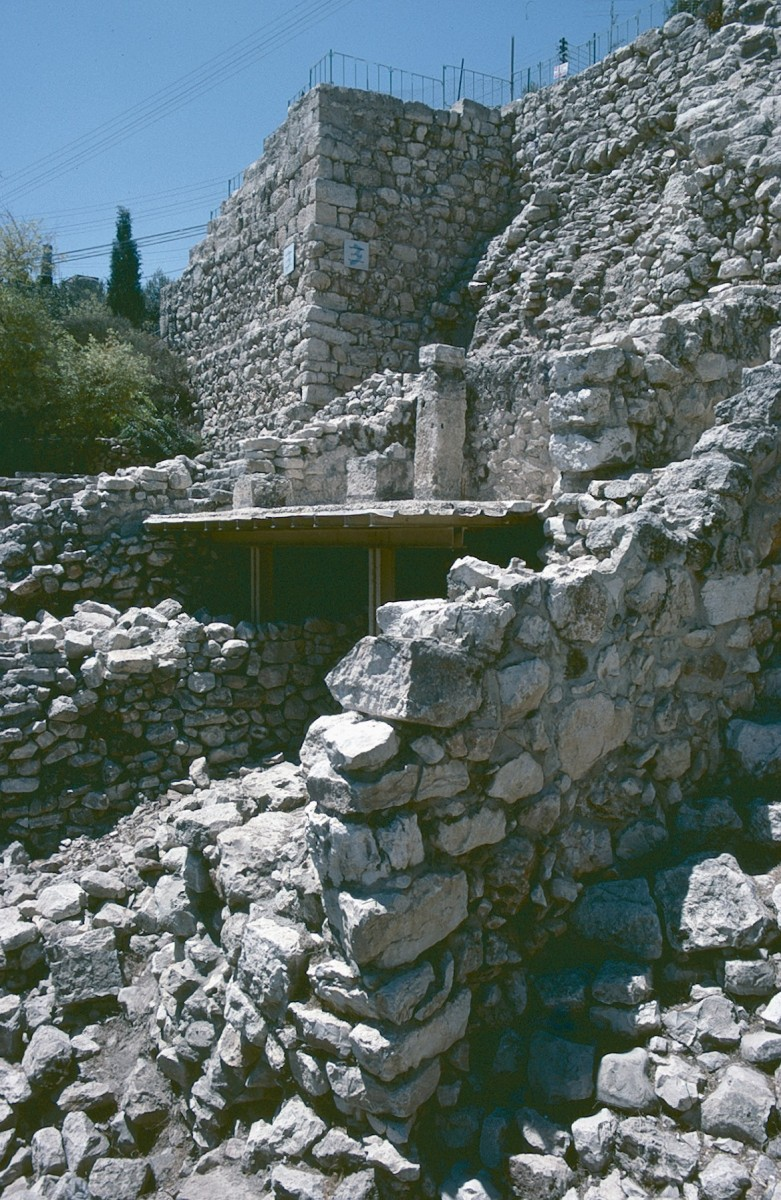 A section of Nehemiah's wall at the City of David