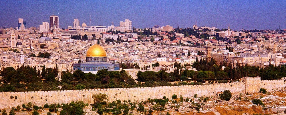 The site of the Temple in Jerusalem