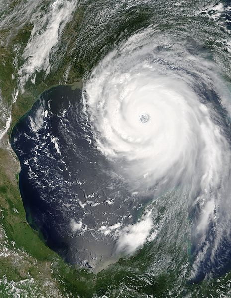 Hurricane Katrina August 28 2005 (NASA)