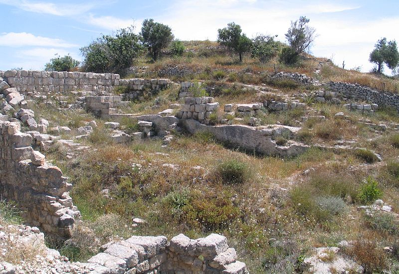 Shomron National Park, Remains of ancient Samaria (Bukvoed)