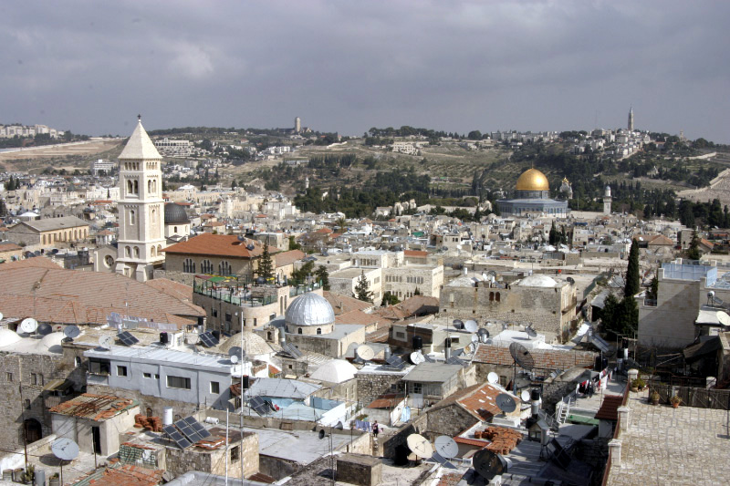 Jerusalem - The Old City (Shmuel Spiegelman)