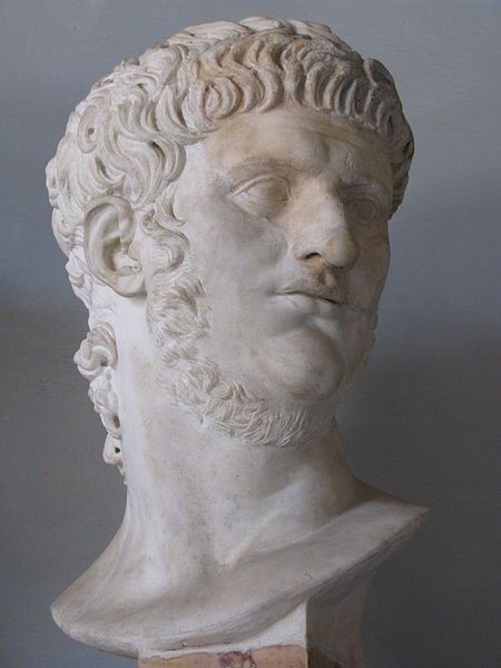 Bust of Nero at the Capitoline Museum, Rome (cjh1452000)