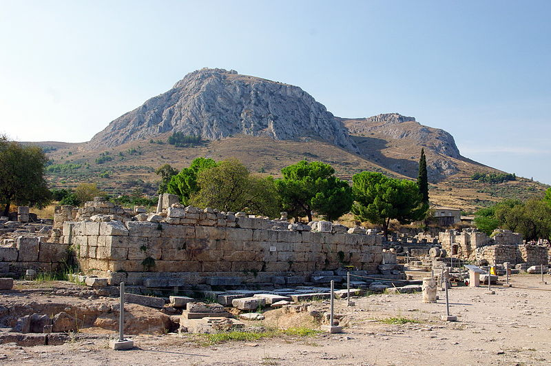 The Agora at Corinth   (Bgabel)