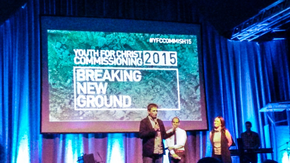 Youth For Christ Commissioning Service