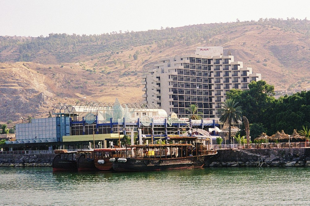 The waterfront at Tiberias, Galilee