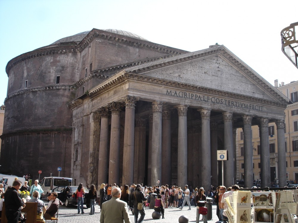 The Pantheon Temple, Rome