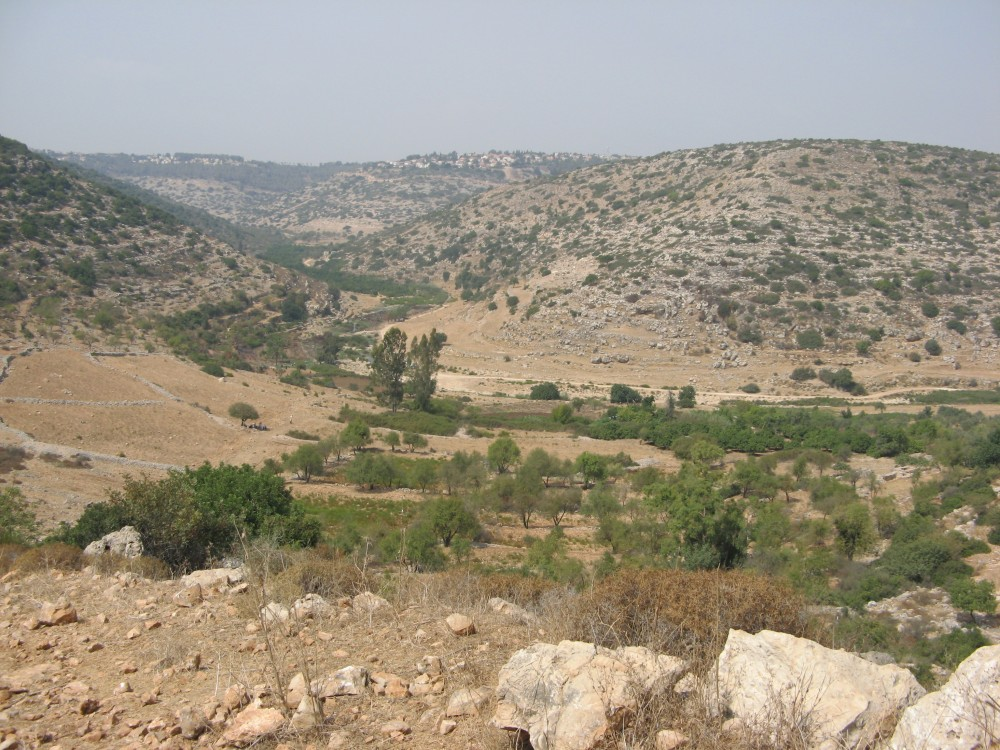 Nahal Kana - a stream in the hills