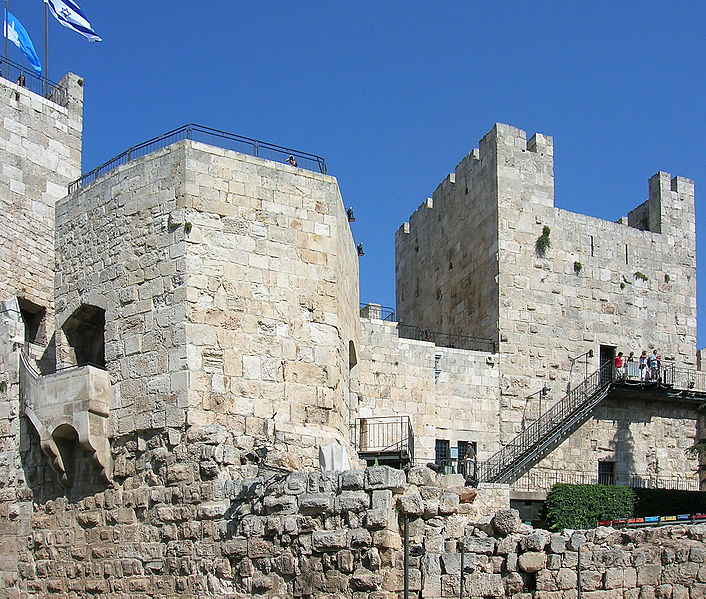 City walls of Jerusalem