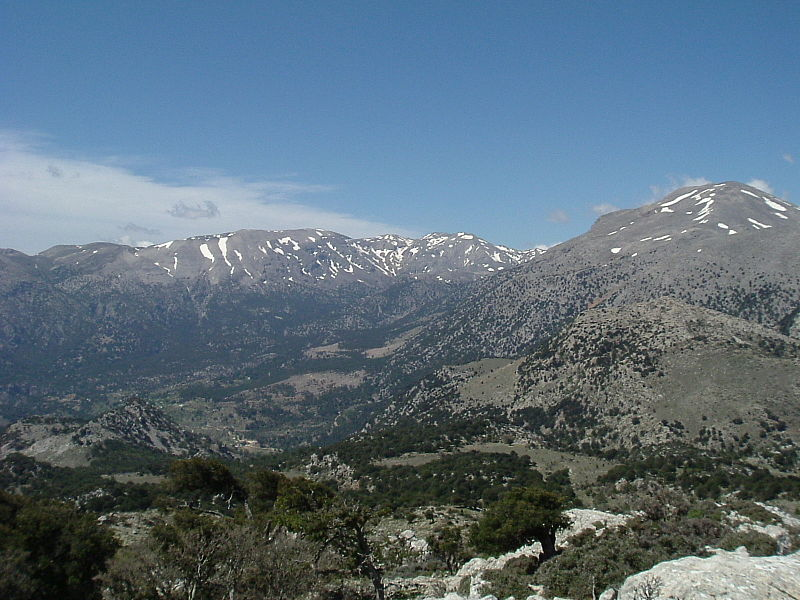 Dikti Mountain, Crete (Lathiot)