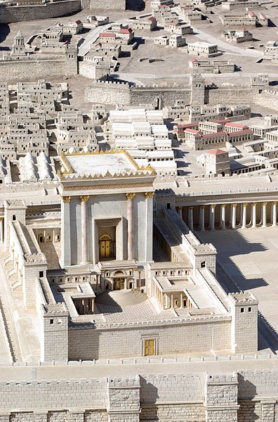 Jerusalem - Model of Herod's Temple (Berthold Werner)